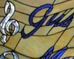 Gus Zoppi custom window art
